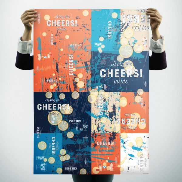 """Geschenkpapier """"Big Cheers"""" für leuchtende Augen"""
