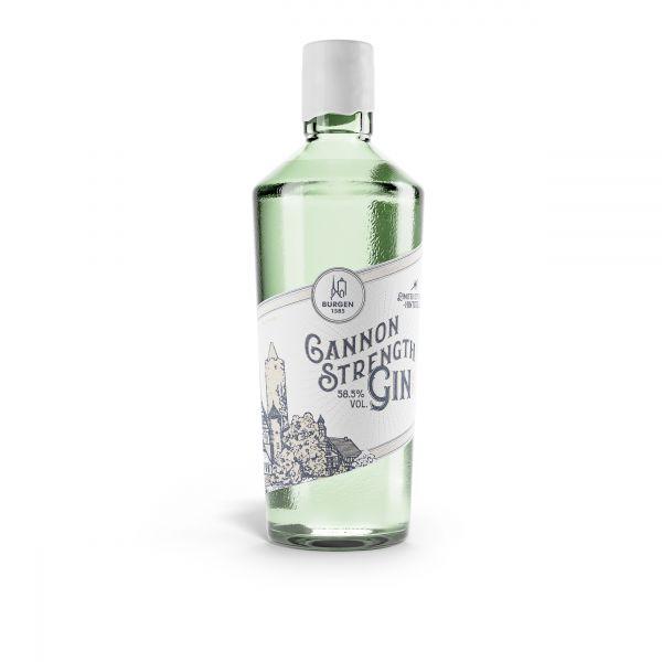 Burgen Cannon Strenght Gin