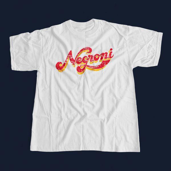 T-Shirt Vintage Negroni - White