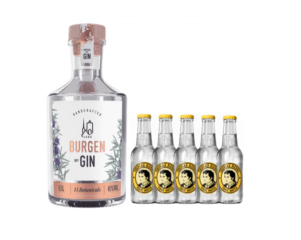 Burgen Dry Gin 0,5 @Home Pack